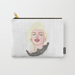 Marilyn Black Lace Carry-All Pouch