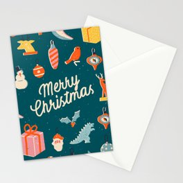 Christmas vintage toys Stationery Cards