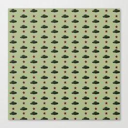 Tank pattern Canvas Print