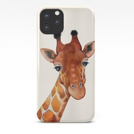 Giraffe Watercolor iPhone Case