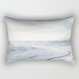 road in iceland Rectangular Pillow