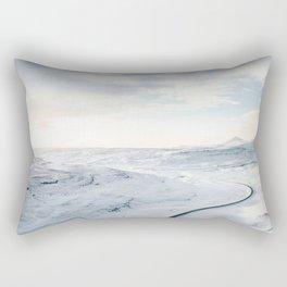 road in iceland Rectangular Pillow