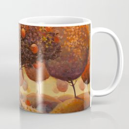 Apple Trees in Autumn Coffee Mug