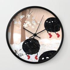 Mr. Furry Pants Wall Clock
