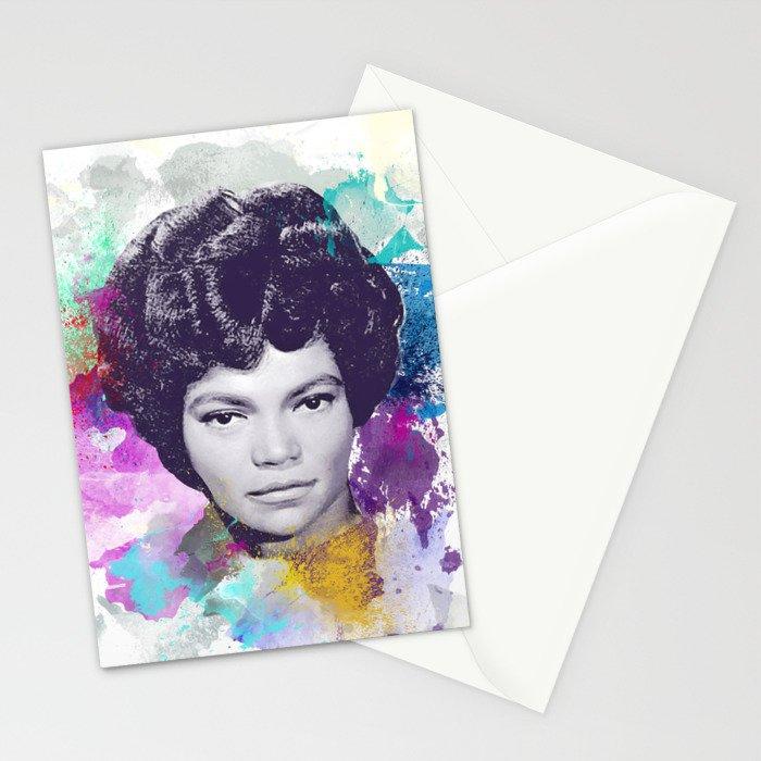 Eartha Kitt II Stationery Cards