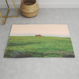 Distance and Time Rug