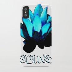 Lotus Flower Bomb iPhone X Slim Case