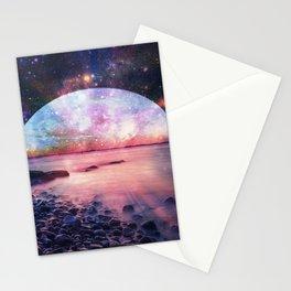 Mystic Lake : Fantasy Moon Landscape Stationery Cards