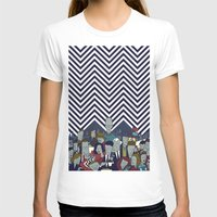 twin peaks T-shirts featuring Twin Peaks by Ale Giorgini