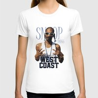west coast T-shirts featuring Snoop Dogg // West Coast by Gold Blood