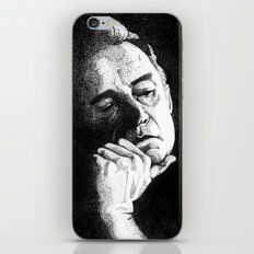 Man In Black JCII Pointillism iPhone & iPod Skin