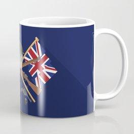 Great war Flat Design Of United Kingdom Coffee Mug