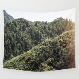 Up on the Mountain Top Wall Tapestry