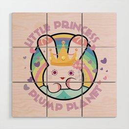 Little Princess Wood Wall Art