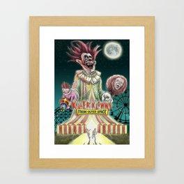 """Over the Big TOP"" Framed Art Print"