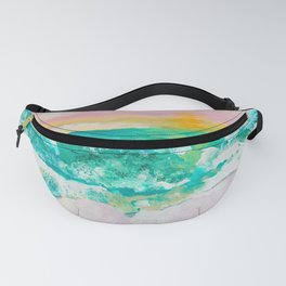Pink Sand Sunset Fanny Pack
