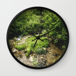 Nature's Beauty Wall Clock