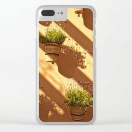Shadows & light - Marrakech wall Clear iPhone Case