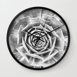 Succulent V Wall Clock