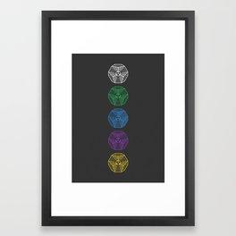 Engrams Framed Art Print
