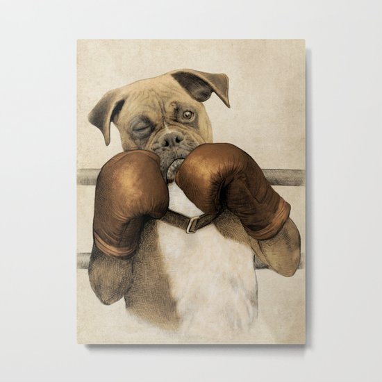 The Boxer Metal Print