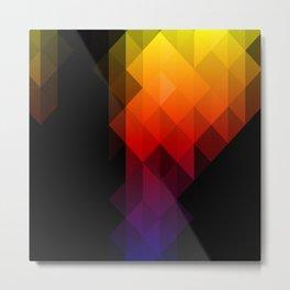 Rainbow Delight Metal Print