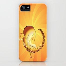 Sternzeichen Jungfrau iPhone Case