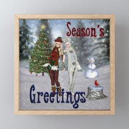 Season's Greetings Framed Mini Art Print