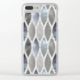 Metallic Armour Clear iPhone Case