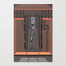 EP6 : Han Solo in Carbonite Canvas Print