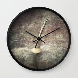 Allium Bud Wall Clock