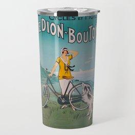 De Dion-Bouton, advertisement vintage poster Travel Mug