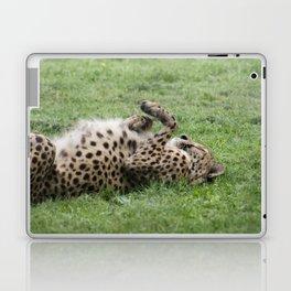 Cheetahs don't always run Laptop & iPad Skin