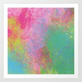 Crayon Corner Art Print