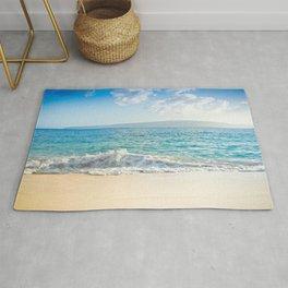 Oneloa Big Beach Makena Maui Hawaii Rug