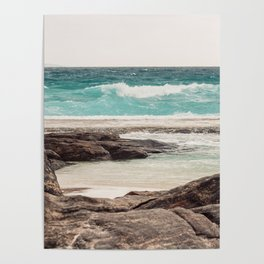 Watching the Waves Roll In Poster