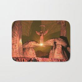 The angel of death Bath Mat