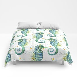 Seahorse: Green Comforters