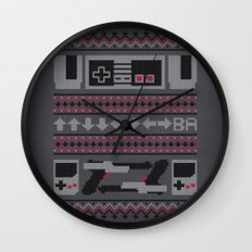 Old School Sweater Wall Clock