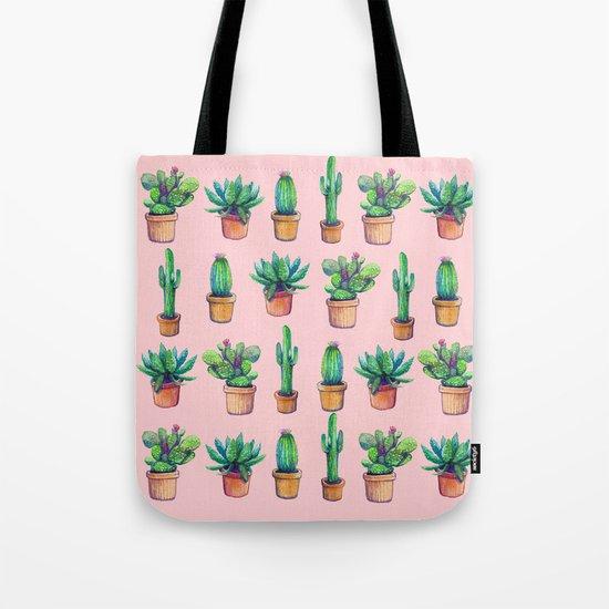 Cactus pink original version Tote Bag