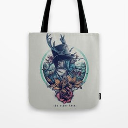 The Other Face Tote Bag