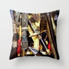 Arm Blanche Throw Pillow