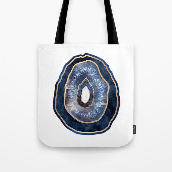 Agate - Blue Tote Bag