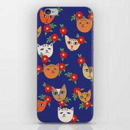 Retro Kitty Cats iPhone Skin