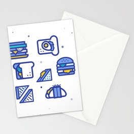 Sandwiches Stationery Cards