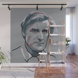 Ted Hughes Wall Mural