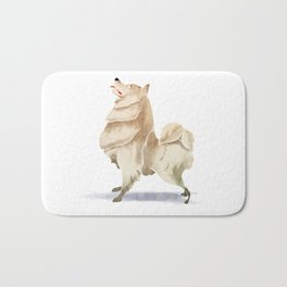Samoyed Bath Mat