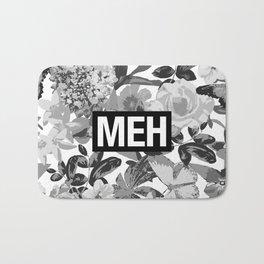 MEH B&W Bath Mat