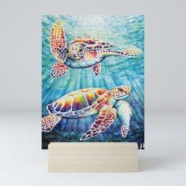Sea Turtles Mini Art Print