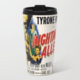 Nightmare Alley, vintage horror movie poster Travel Mug